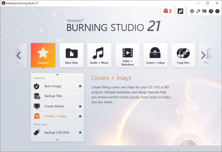 Ashampoo Burning Studio 21.6.1.63 Crack & Activation Key [Latest]